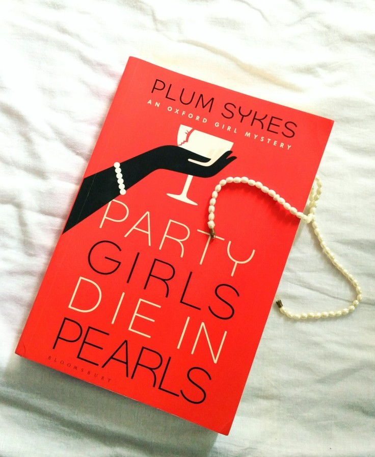 Party girls die in pearls by Plum Sykes the liquid sunset